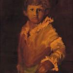 Ruffle-Shirted Boy